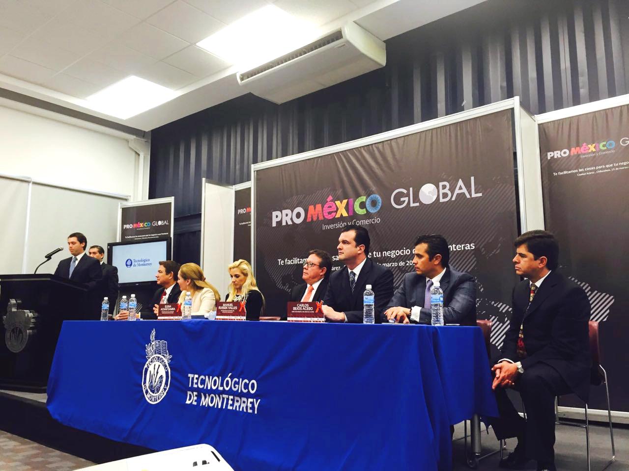 Impulsa ProMéxico negocios en el estado de Chihuahua