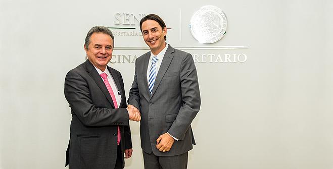 El Secretario de Energía, Licenciado Pedro Joaquín Coldwell, se reunió con el Enviado Especial para Asuntos Internacionales de Energía del Departamento de Estado de Estados Unidos, Amos Hochstein