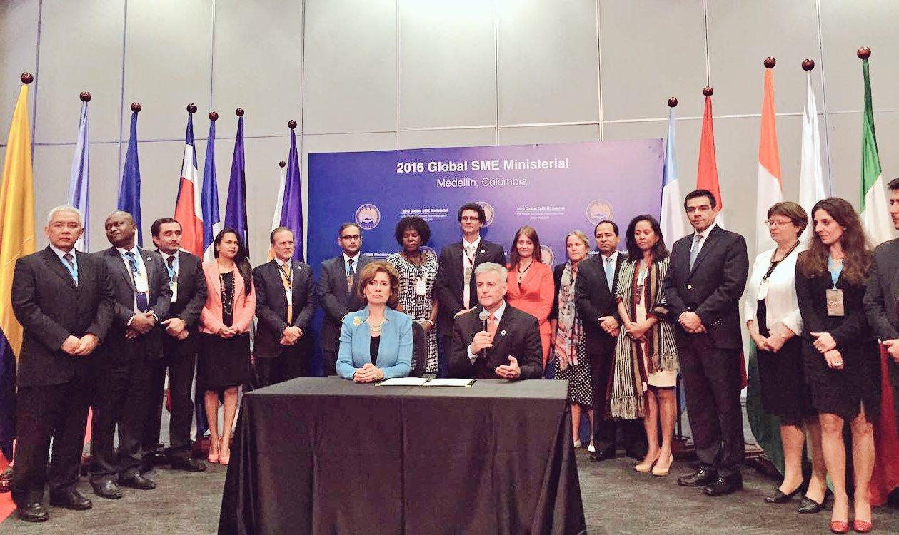 El INADEM crea alianzas con Colombia para apoyar a los emprendedores de ambos países