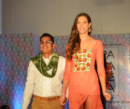 Diseñadores artesanales mexicanos presentan muestra