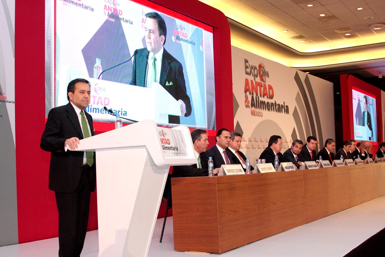 Inaugura el Secretario de Economía la Expo ANTAD y Alimentaria México 2016, en Guadalajara