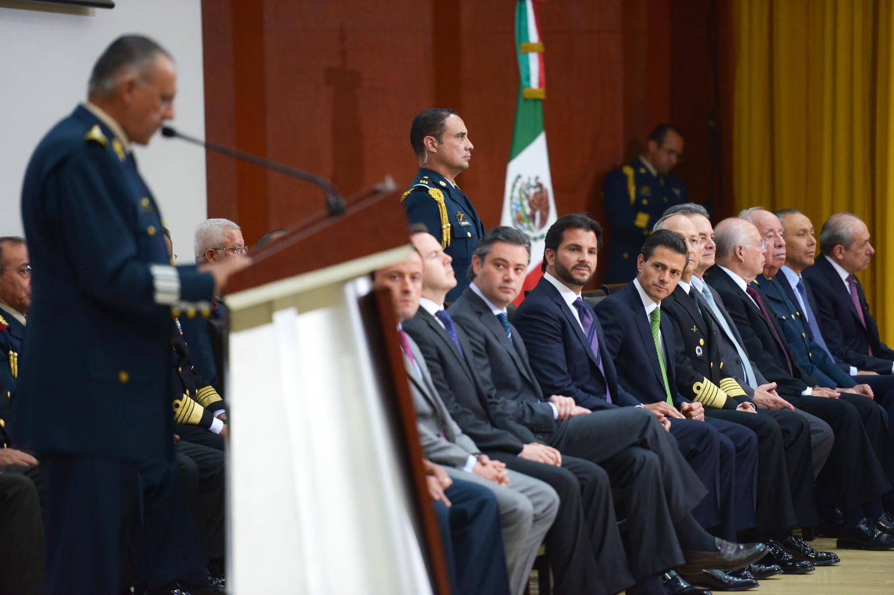 Estás instalaciones fortalecen al servicio de sanidad militar y a las Fuerzas Armadas, para beneficio de todos los mexicanos, dijo el General Salvador Cienfuegos Zepeda.