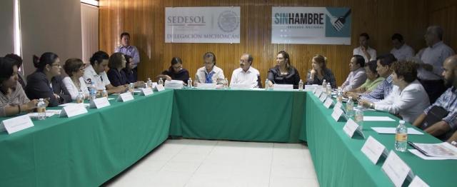 Reunión Indesol-Organizaciones Michoacanas de la Sociedad Civil