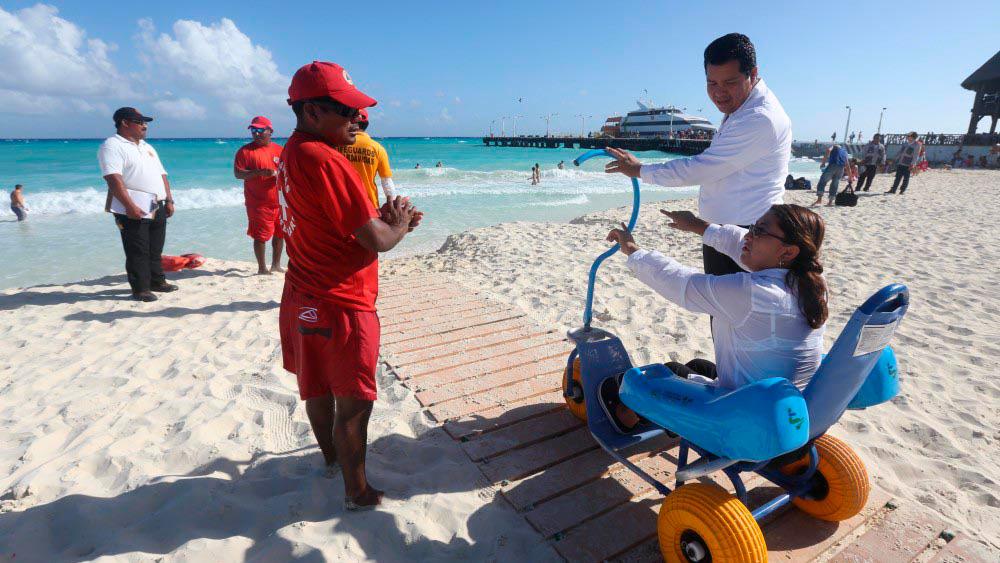 SECTUR presentó la Política Pública de Turismo Inclusivo, para que turistas con discapacidades puedan disfrutar México.