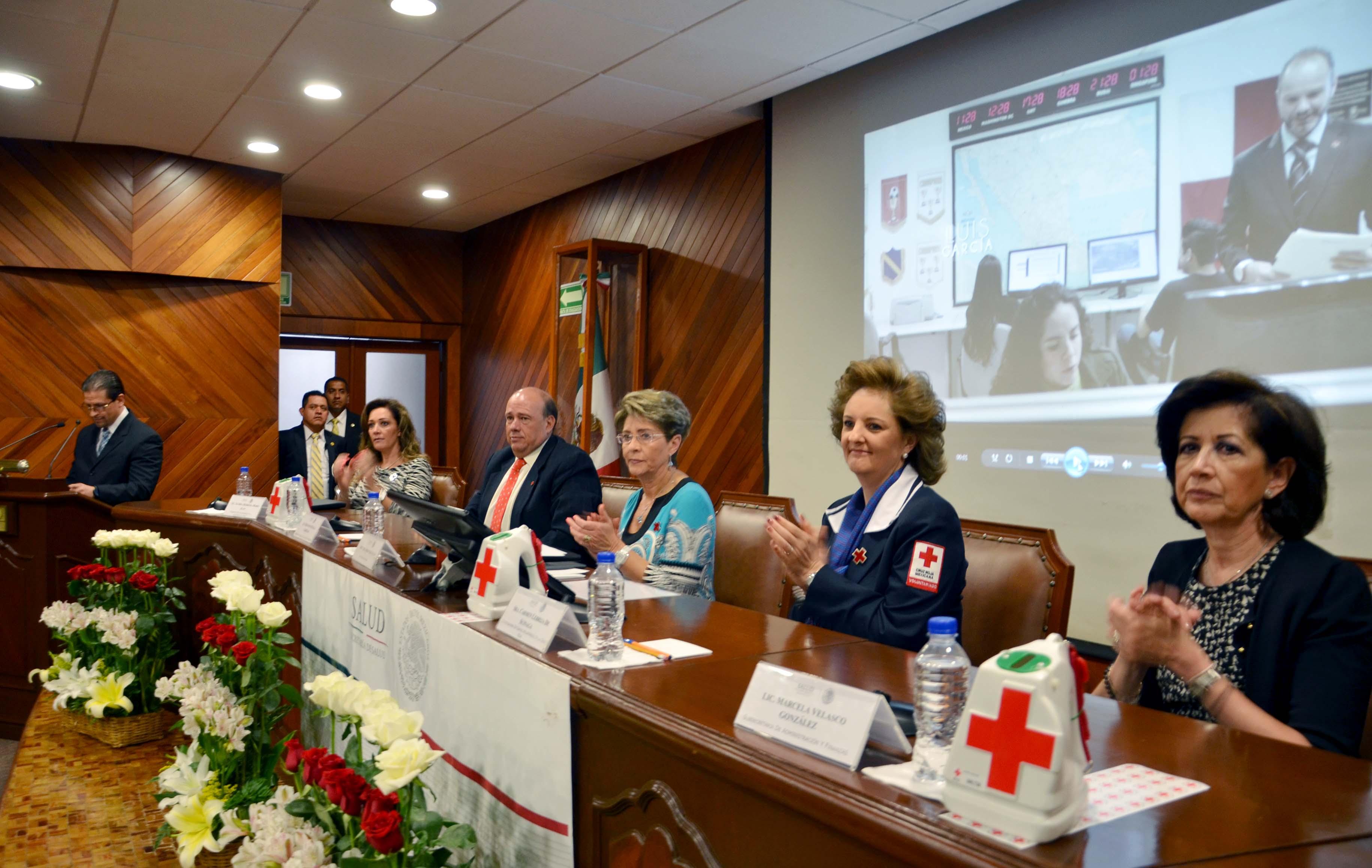 Inicia Colecta Anual 2015 de la Cruz Roja Mexicana entre los trabajadores de la Secretaría de Salud