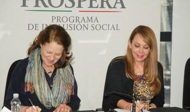 "PROSPERA firma convenio con IMIFAP para la segunda etapa de ""Yo quiero, Yo puedo"""
