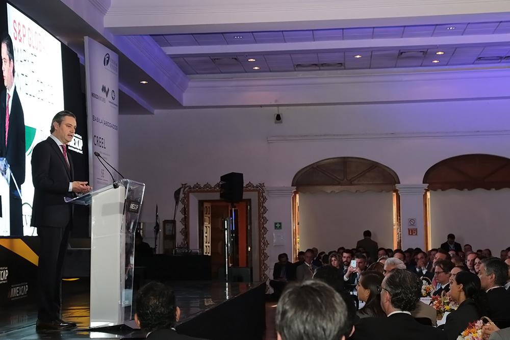 Conferencia del secretario de Educación Pública, Aurelio Nuño Mayer