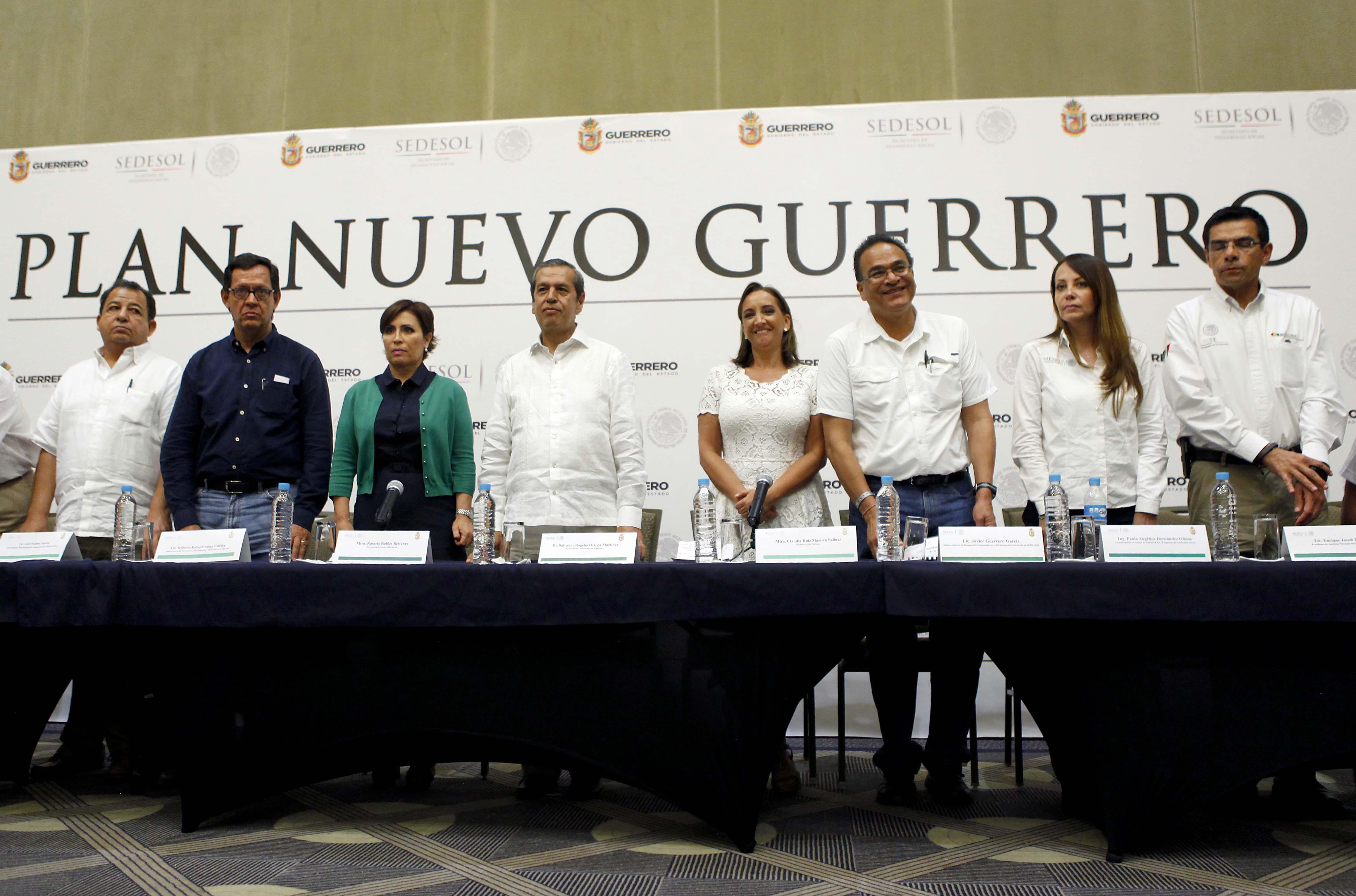 En SEDESOL anuncian Plan Emergente para Reactivar la Economía del estado de Guerrero.