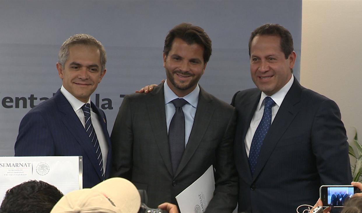 Reunión del titular de la Semarnat, Gobernador del Estado de México y Jefe de Gobierno de la Ciudad de México.