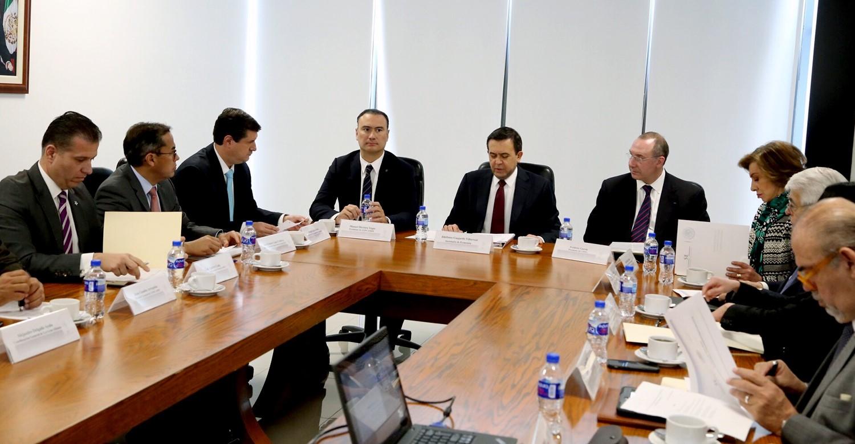 El Secretario Ildefonso Guajardo Villarreal instaló formalmente los Grupos de Alto Nivel de Encadenamiento Productivo y Competitividad Industrial