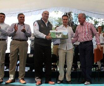 Semarnat y Conafor entregaron Inventario Forestal a Chiapas.