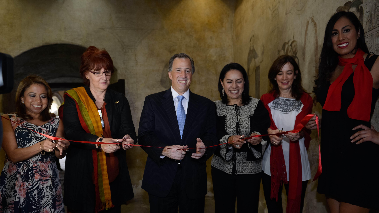 """Inauguración de la exposición """"La Creación en el Arte Popular"""", en el marco del Día del Artesano"""