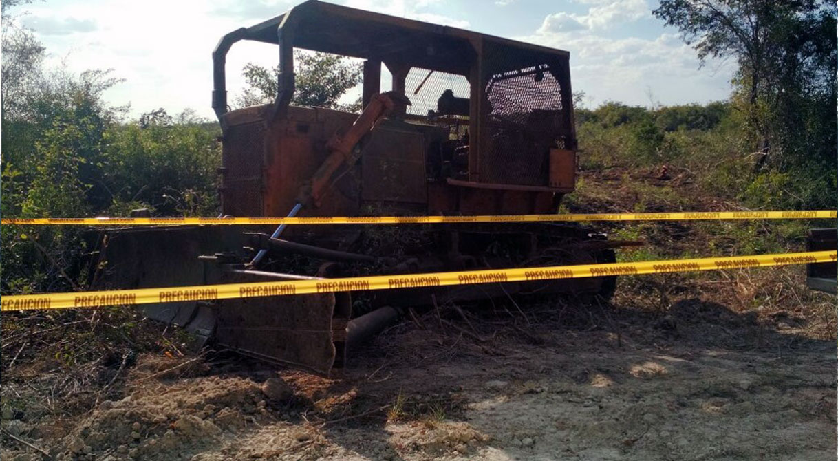 Asegura PGR a dos personas por un delito contra el ambiente
