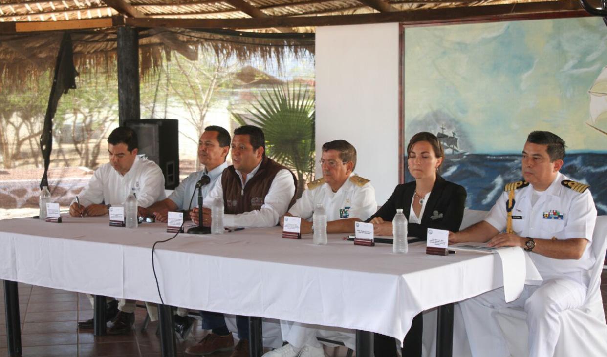 Las acciones del programa previenen actividades incidentales e ilícitas de la pesquería, tráfico ilegal y delincuencia organizada