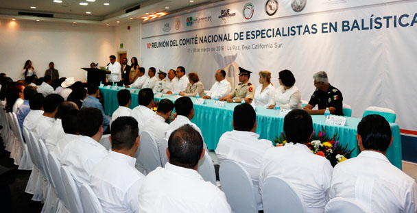 """Participó PGR en la décima reunión del Comité Nacional de Especialistas en Balística """"CONEBAL""""."""