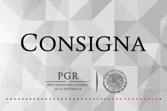 Consigna PGR a dos personas detenidas en Altamirano, Guerrero