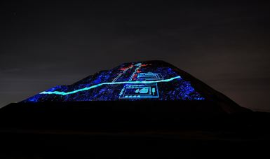 "The ""Nocturnal Experience in Teotihuacán"" show will be able to be enjoyed by visitors during this holiday period."