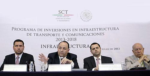 El subsecretario de Infraestructura de la SCT dijo que la meta fundamental es lograr que México se convierta en el gran centro logístico mundial