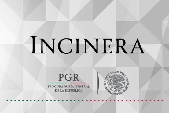 Realizan PGR y SEDENA destrucción de estupefacientes y psicotrópicos asegurados en la Ciudad de México.