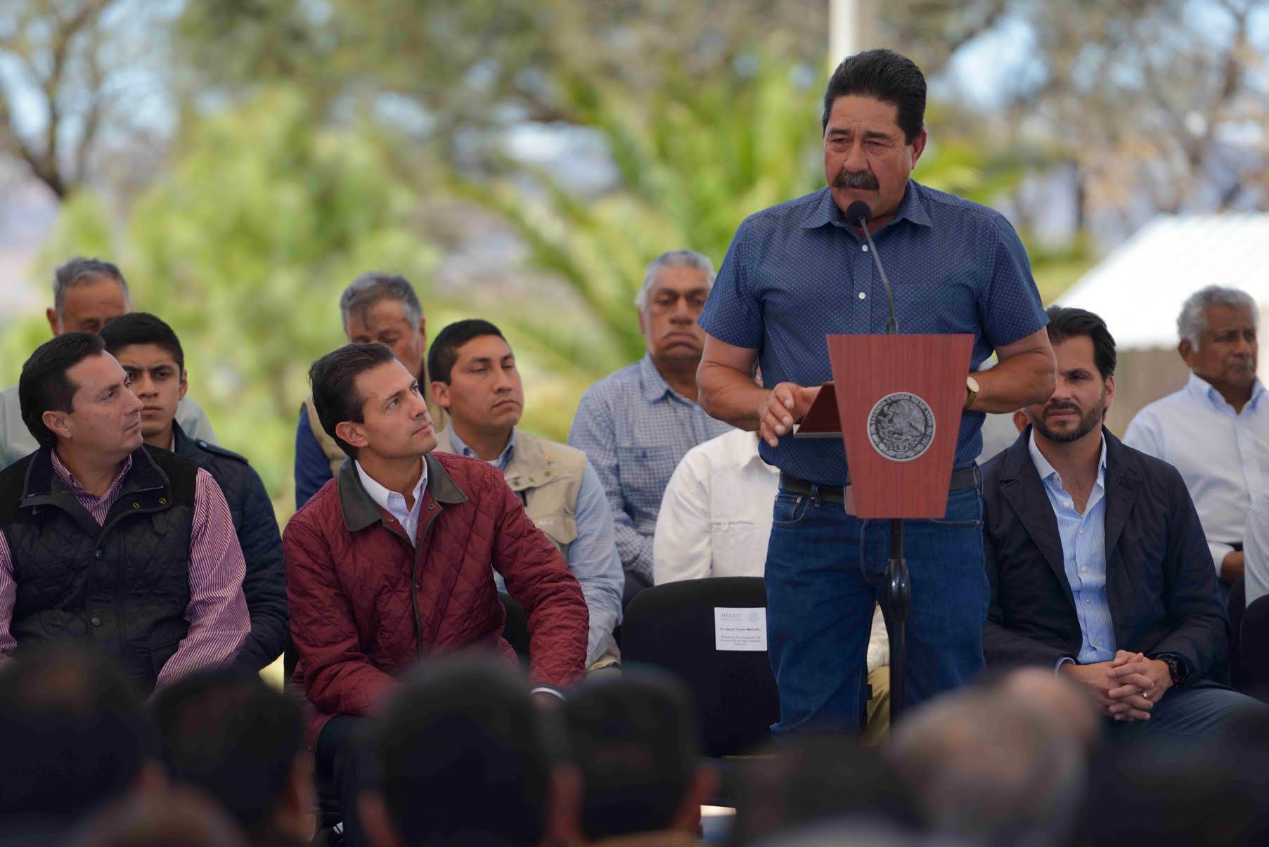Daniel Torres, Presidente de la Asociación de Usuarios de la Presa Leobardo Reynoso.