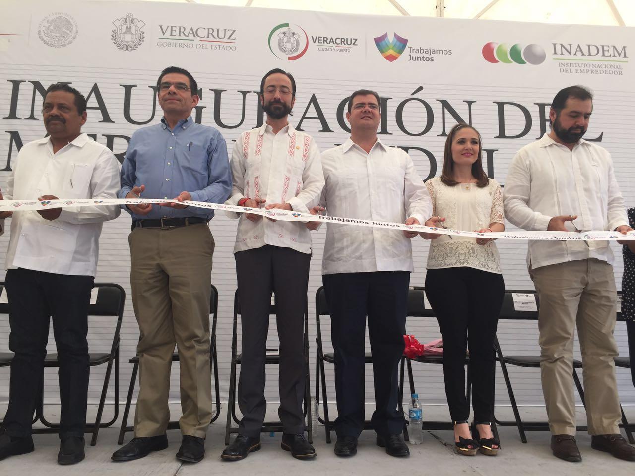 INADEM impulsa la actividad productiva de pequeños comerciantes en Veracruz