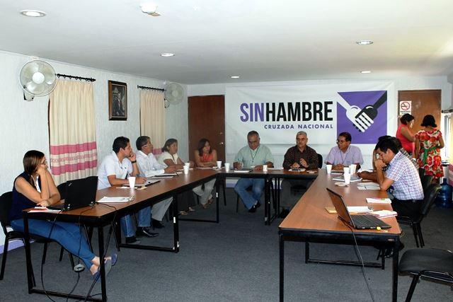 Primera sesión del Comité Estatal del Programa  Empleo Temporal en Oaxaca
