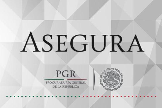 Asegura PGR más de 65 kilos de mariguana en Sinaloa.