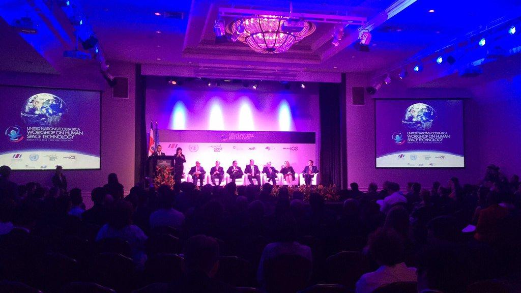 Agencia Espacial Mexicana participa en plenaria de Tecnología Espacial de la ONU