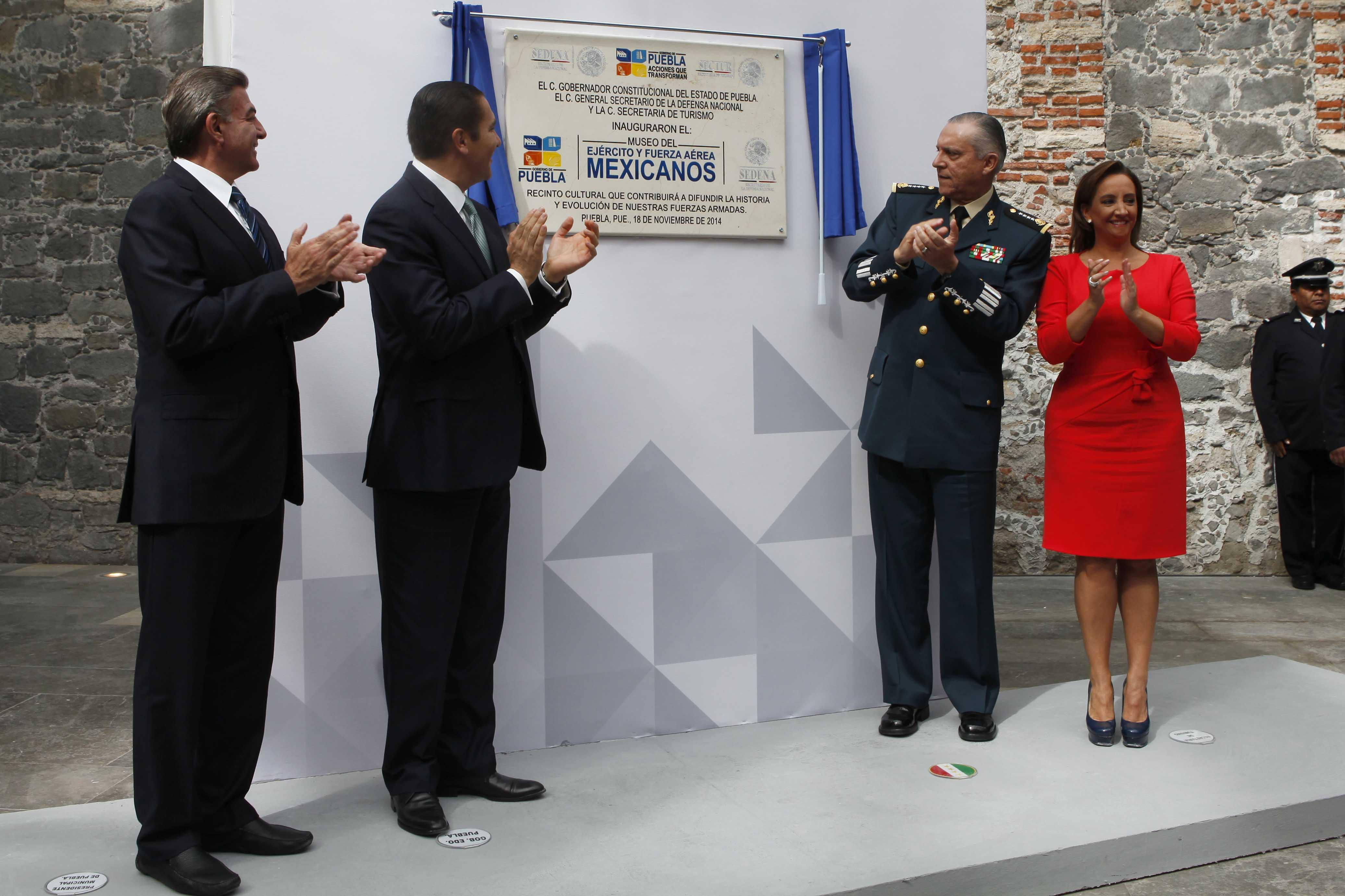 SECTUR, SEDENA y Gobierno de Puebla invierten 66 mdp en Museo del Ejército y Fuerza Aérea Mexicanos.