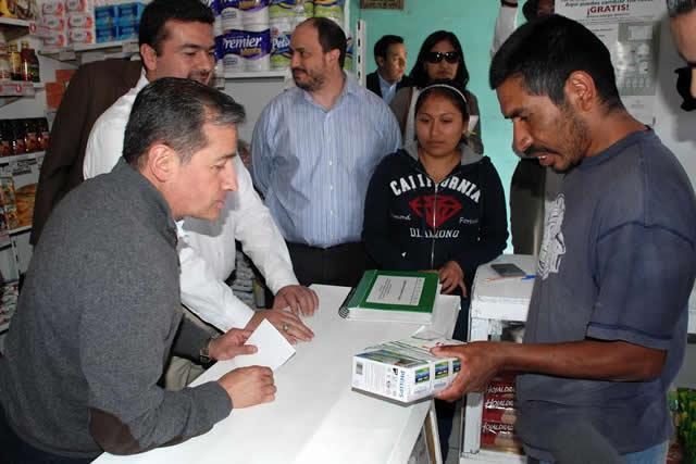 Diconsa canjea lámparas ahorradoras en 35 localidades de 19 municipios michoacanos