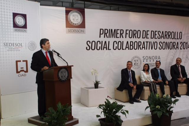 Primer Foro de Desarrollo Social Colaborativo Sonora 2014