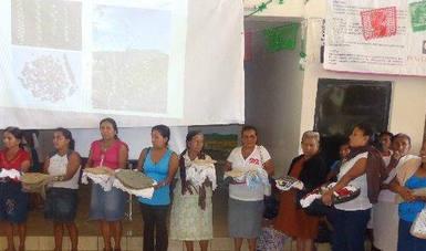 Participan investigadores, autoridades municipales y comunidades beneficiarias del programa, del Ejido de Ayotitlán