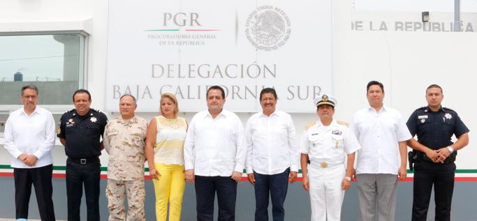 Sostuvo PGR reunión de trabajo con el grupo de Coordinación Baja California Sur.