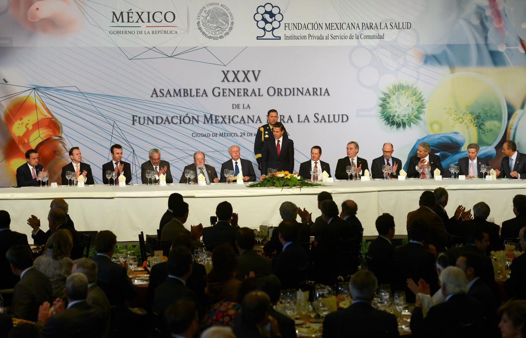 35ª Asamblea General Ordinaria de la Fundación Mexicana para la Salud.