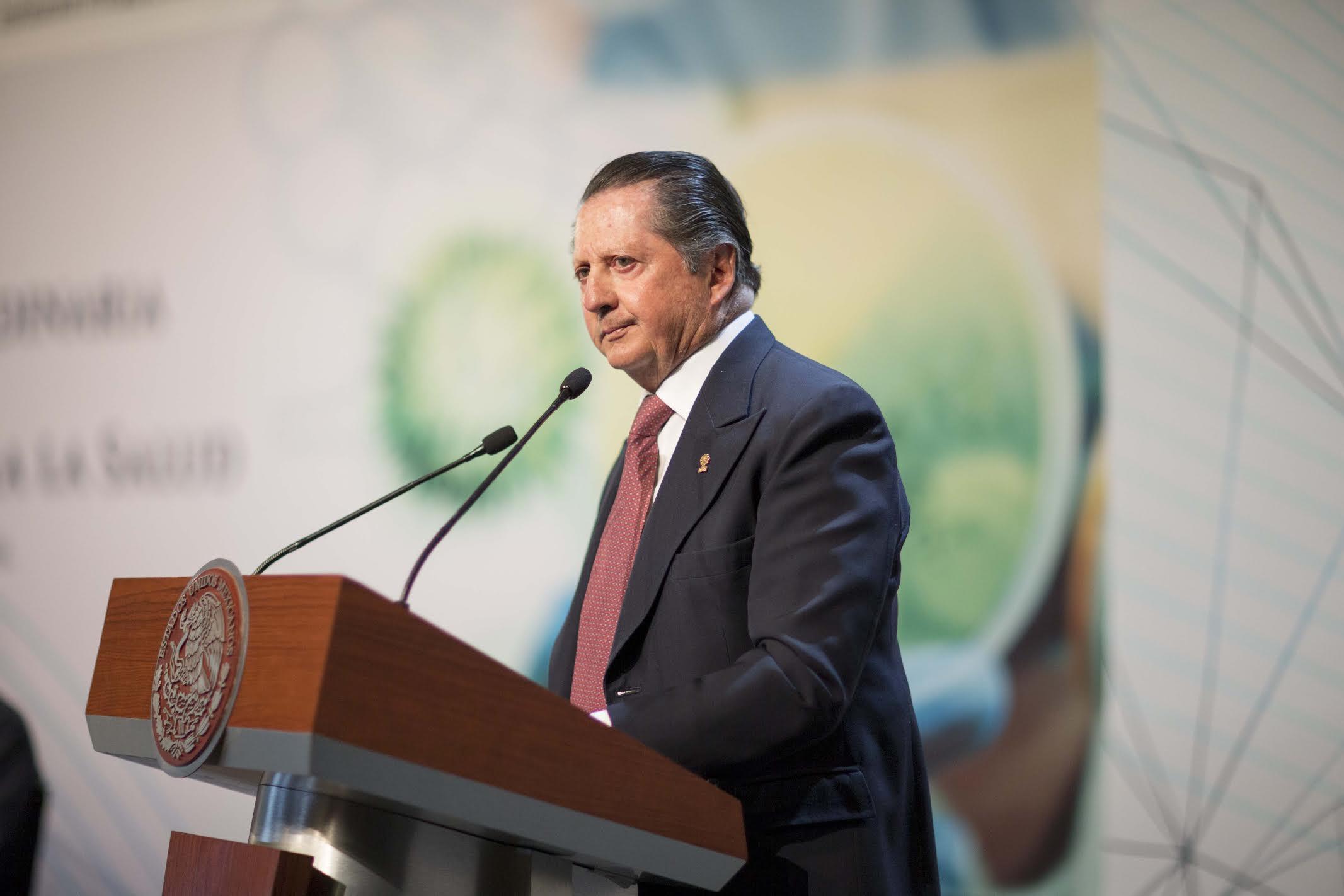 Pablo Escandón Cusi, Presidente del Consejo Directivo de la Fundación Mexicana para la Salud.
