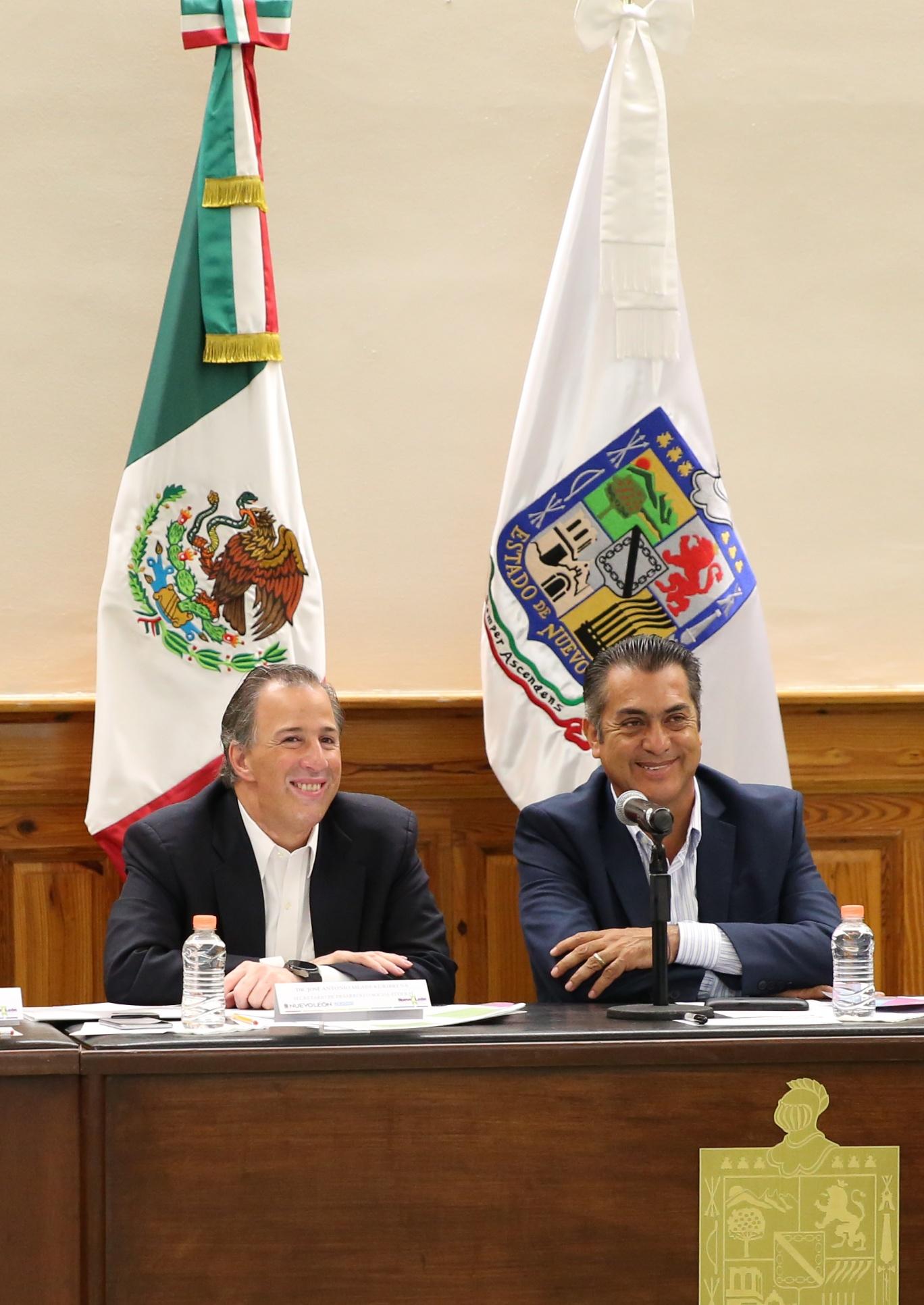 Entrevista al secretario Meade al término de la firma de la Declaración Conjunta Femsa-Sedesol
