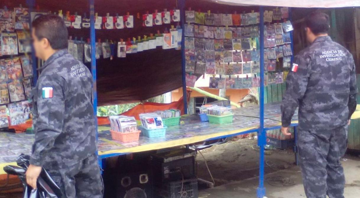 Asegura PGR en Chapulhuacán más de siete mil piezas de material apócrifo