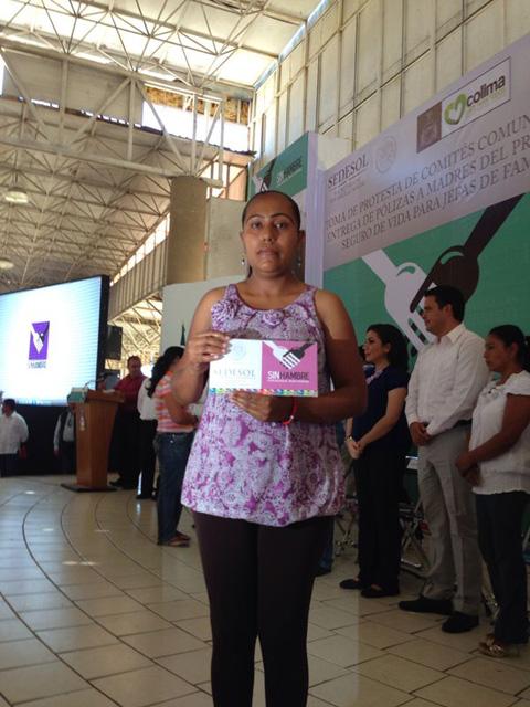 Jornada de la Cruzada nacional Contra el Hambre en Tecomán, Colima