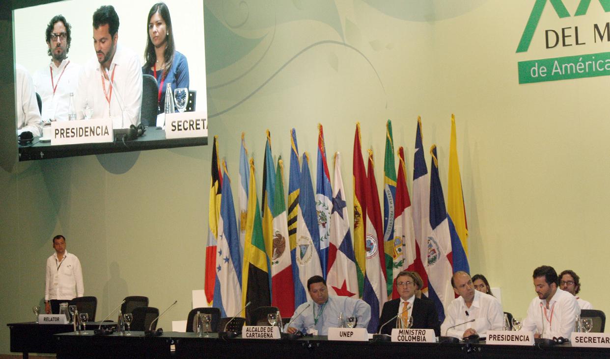 XX Foro de Ministros de Medio Ambiente en Cartagena, Colombia