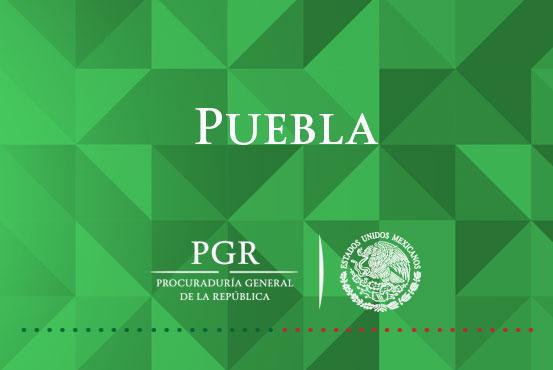 La PGR Puebla asegura más de 12 mil piezas de material apócrifo. Comunicado DPE/ 670 / 16