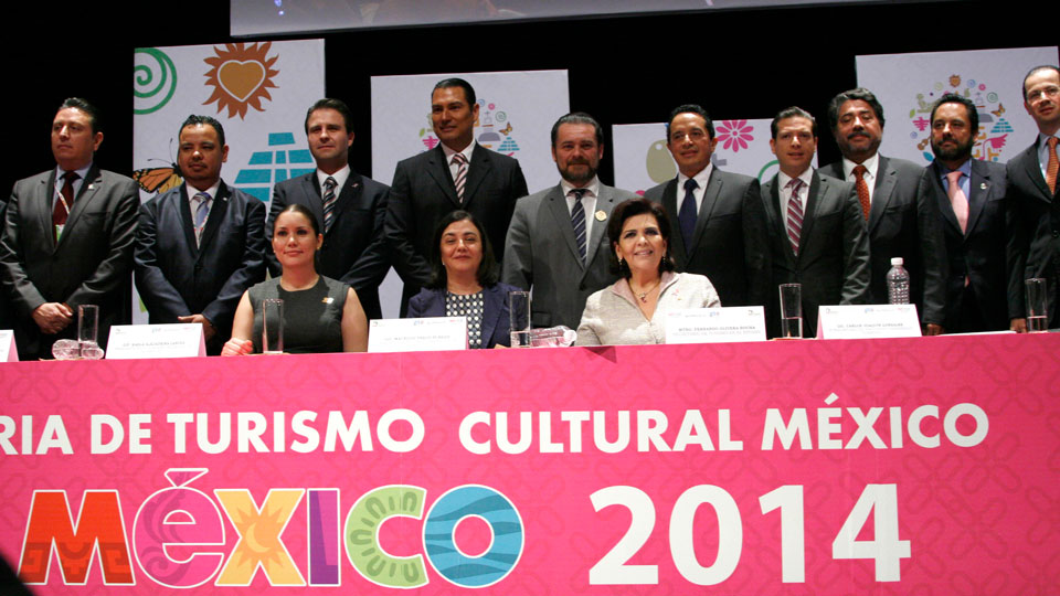 Inauguración de la Feria de Turismo Cultural 2014.