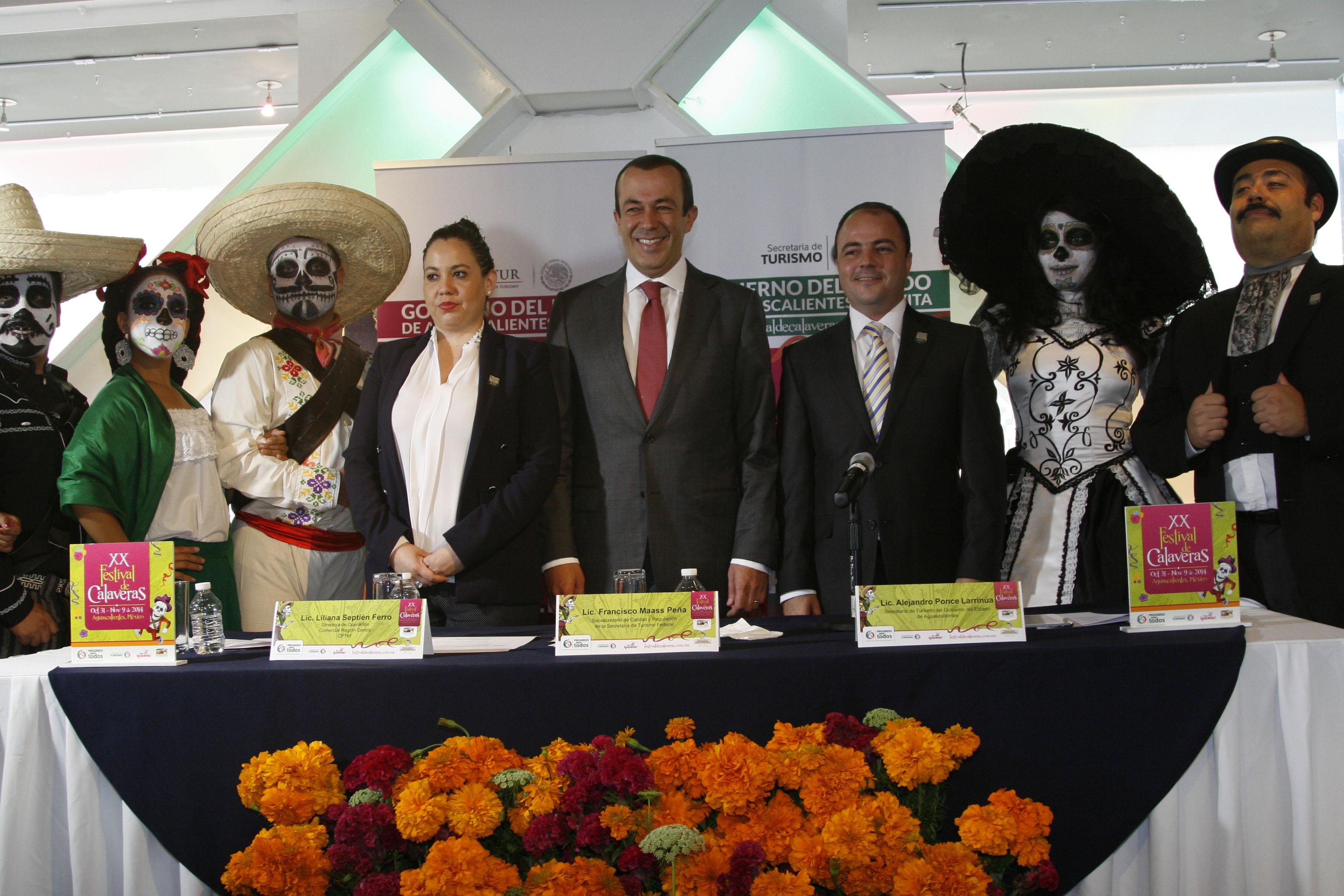 XX edición del Festival de Calaveras, Aguascalientes 2014, en Punto México.