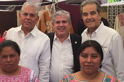 Salvador Sánchez en representación de SECTUR en la Inauguración de la Jornada Turística Comunitaria.