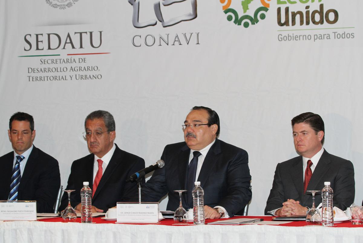El secretario de Desarrollo Agrario, Territorial y Urbano, encabezó el segundo encuentro regional con presidentes municipales.