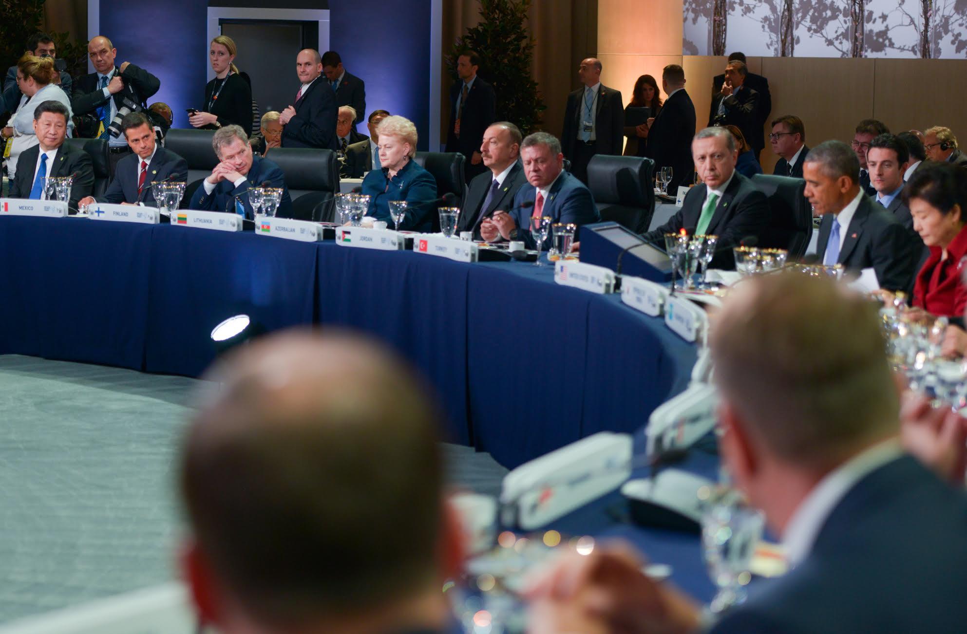 El Presidente Enrique Peña Nieto participó en la Sesión Plenaria de la Cuarta Cumbre de Seguridad Nuclear.