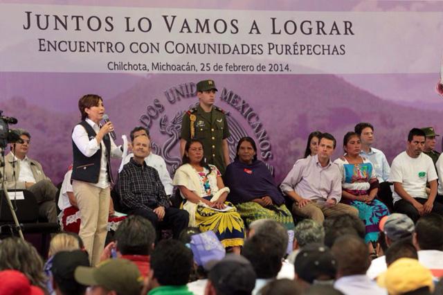 En 21 días la Sedesol concluyó  110 de los 400 comedores comunitarios comprometidos por el presidente Peña Nieto