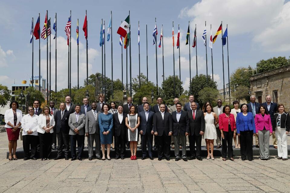 La Secretaria de Turismo, Claudia Ruiz Massieu, asiste al Diálogo de Alto Nivel Sobre Turismo y Desarrollo Comunitario.