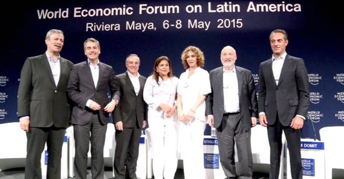 Concluye Foro Económico Mundial para América Latina 2015