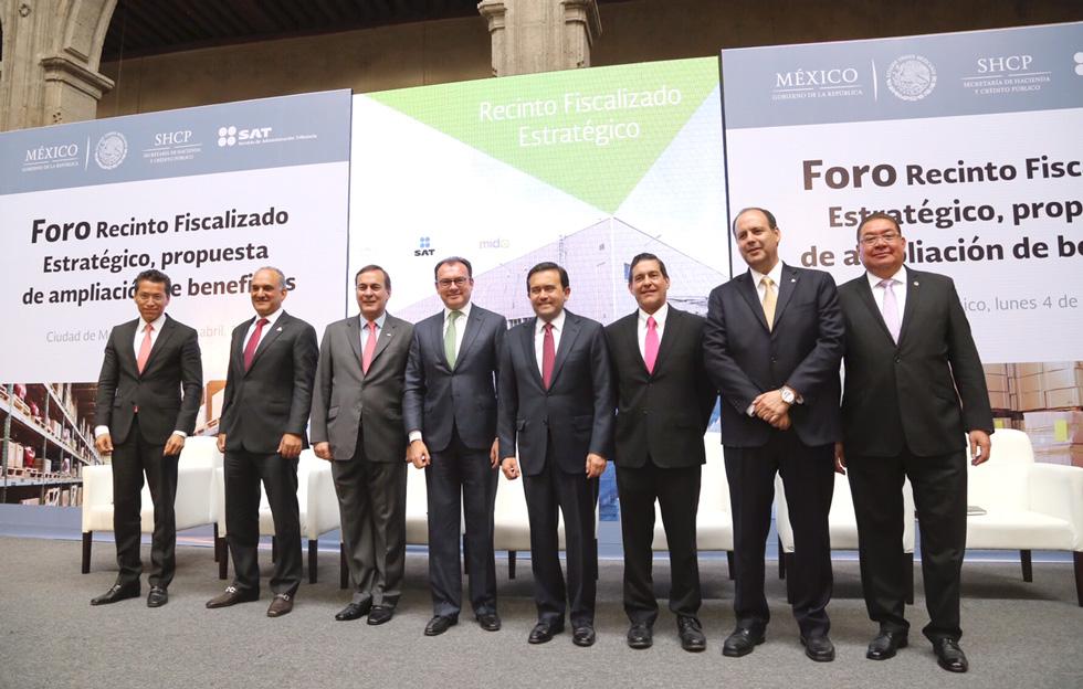 Son Recintos Fiscalizados Estratégicos instrumento de competitividad en el comercio exterior: SHCP