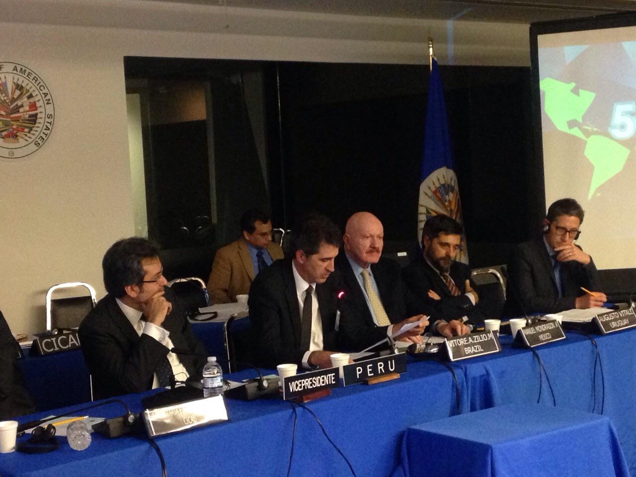 Concluyó el 57 Periodo Ordinario de Sesiones de la Comisión Interamericana para el Control del Abuso de Drogas (CICAD)
